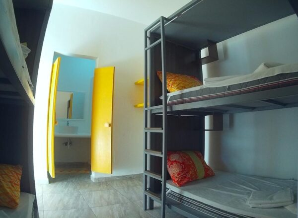 where to stay in cancun hostel humanity