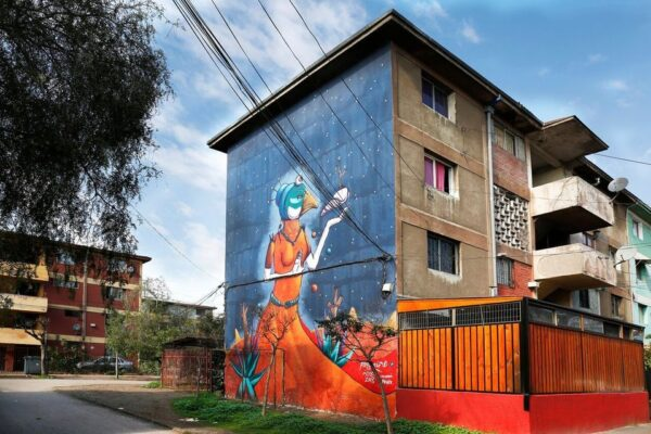 Santiago Chile Tours Street Art