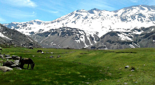 Santiago Chile Tours cajon del maipo volcan san jose hike volcano