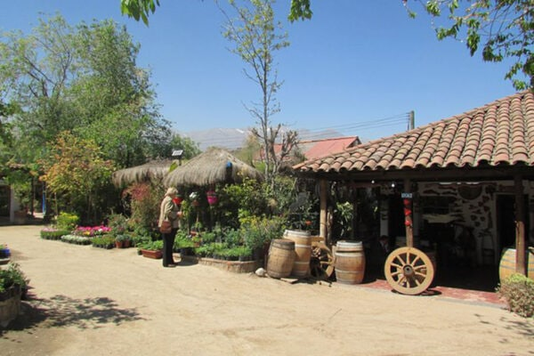 Santiago Chile Tours neighborhoods el pueblito craft village