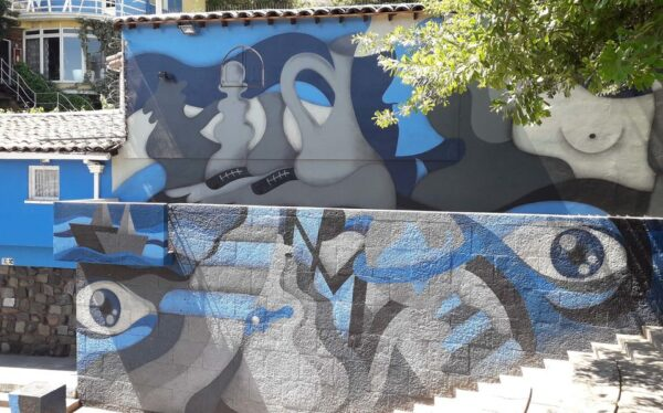 Santiago Chile Tours neighborhoods el pueblito craft village
