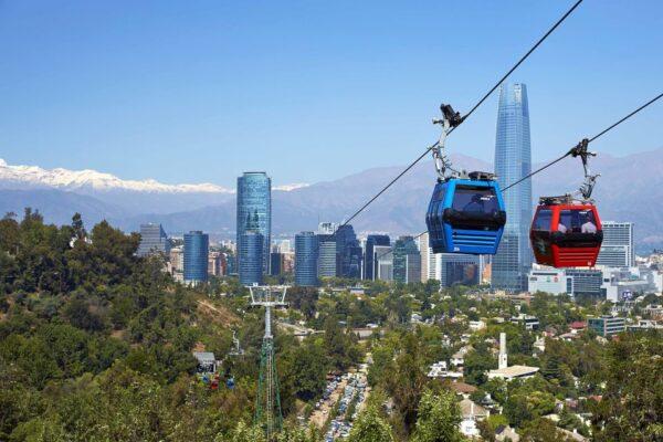 Santiago chile Tours Hop on Hop Off bus
