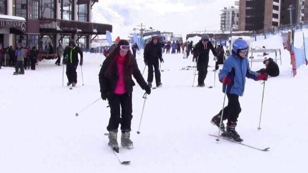 Santiago chile Tours valle nevado farellones ski