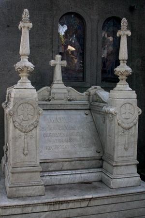 recoleta cemetery buenos aires infant tomb