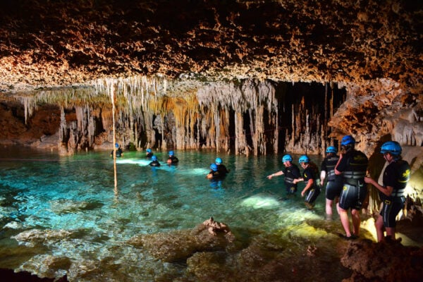 things to do in playa del carmen mexico rio secreto