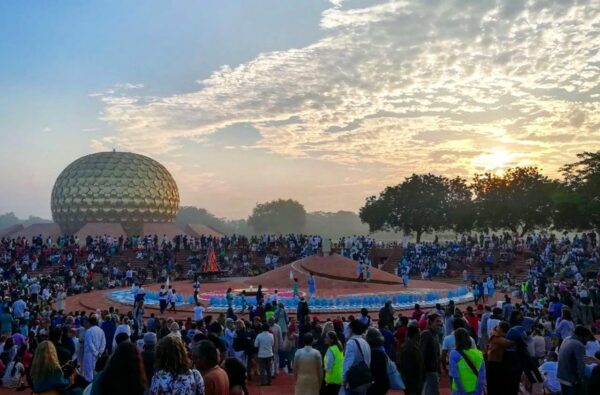 volunteering abroad india auroville