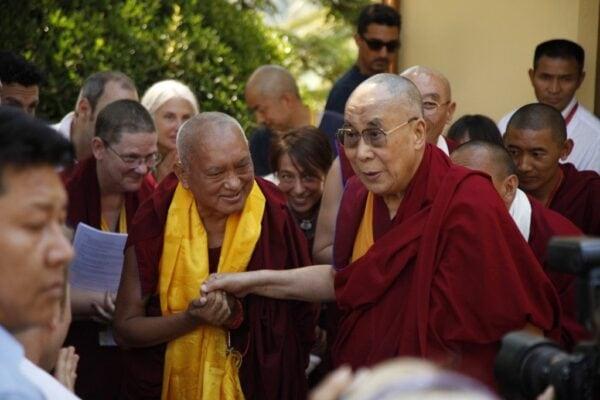volunteering abroad italy dalai lama