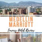 Review of the Medellin Marriott Hotel, a luxurious but accessible place located right along Medellin's famous Golden Mile (Milla de Oro) in El Poblado. A great place if you are looking for where to stay in Medellin during your vacation or business travels.