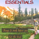 Day Hike Essentials to Carry on the Trail outdoors, hiking