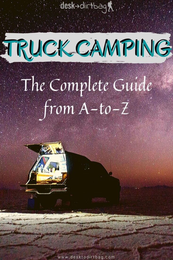 Comparing Roof Top Tents, Canopies, Slide-In Campers, and Truck Bed Tents truck-camping, travel